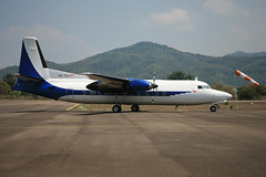 PK-TSJ Fokker 27 Indonesian Air Transport @ Labuan Bajo WATO
