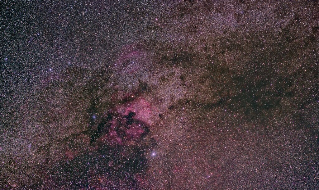 NGC7000, around (another post processing)