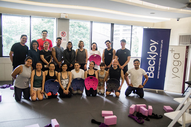 Group photo of the new Backjoy launch
