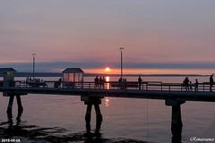Edmonds fishing pier sunset