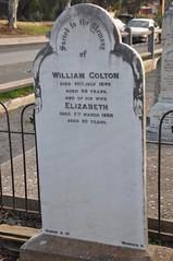 Colton headstone, McLaren Vale Congregational cemetery