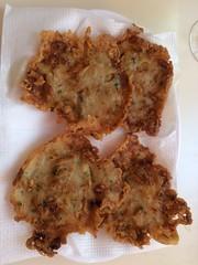 Comida tortillas de camarón Fuengirola Malaga