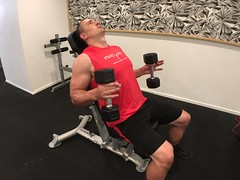 Incline Hammer Curl