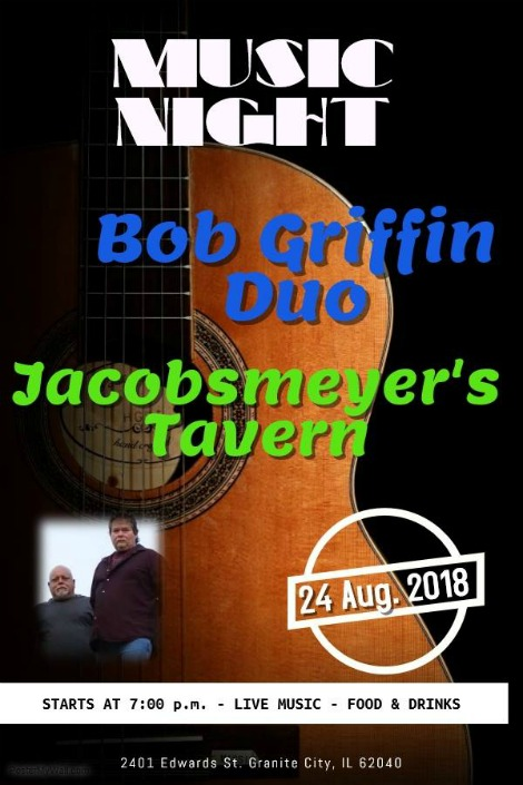 Bob Griffin Duo 8-24-18