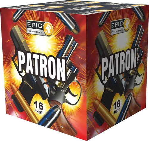 PATRON 16 SHOT 1.3G BARRAGE #EpicFireworks