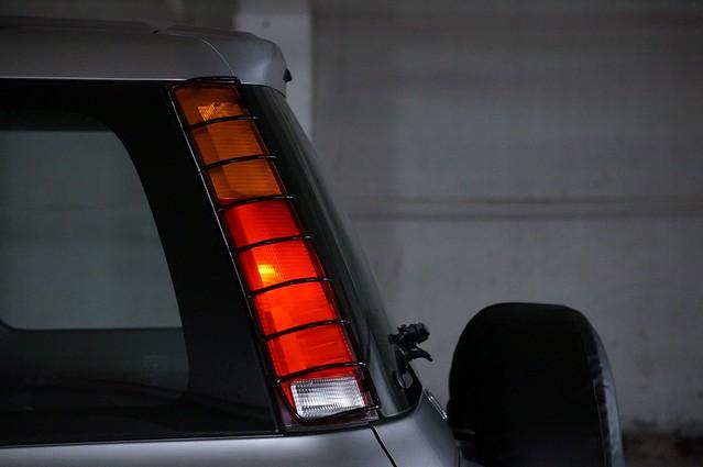 Custom Made Tail Light Guards For 97-01 Honda CRV | Honda CR