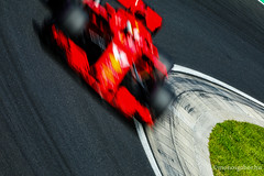 Vettel hurriedly