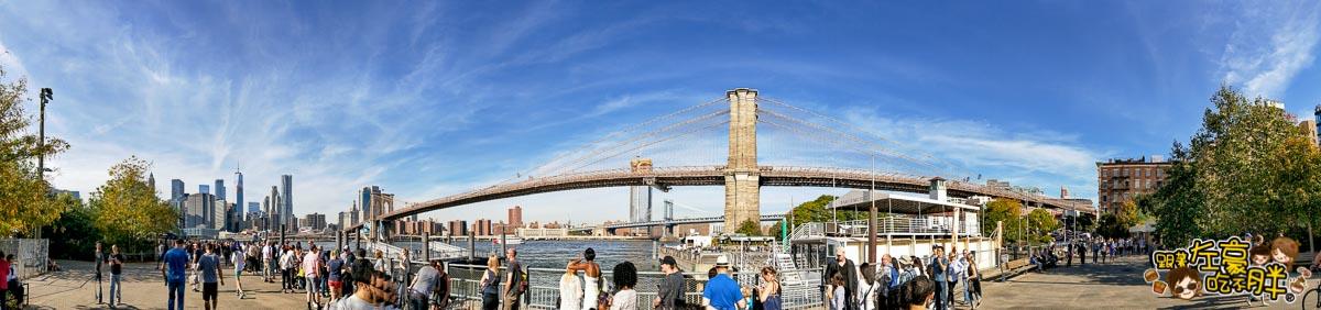 美國紐約-布魯克林大橋-2