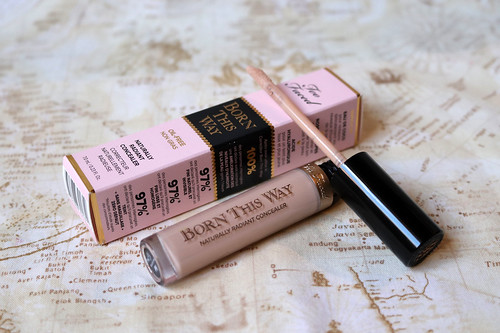 Too Faced, Born This Way Naturally Radiant concealer in Fair