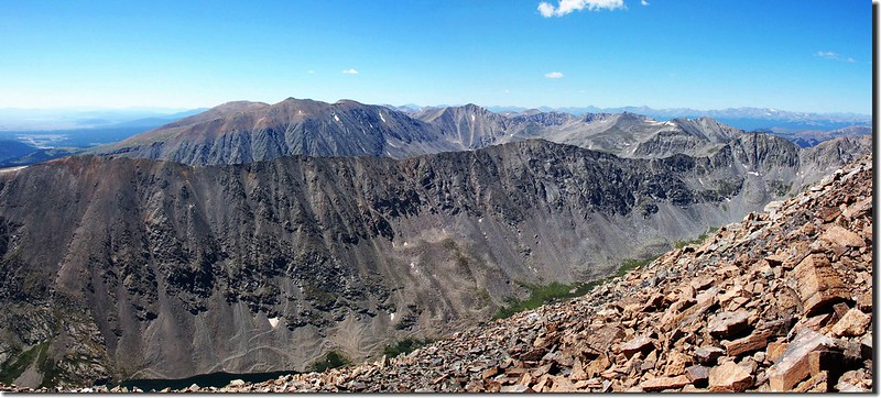View to southwest from the summit of Quandary Peak (1)