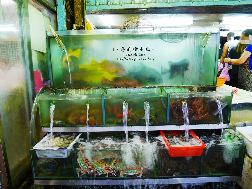 基隆吃海鮮推薦和平島漁市大街 (7)