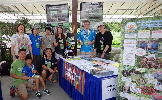 Restore Ubin Mangroves (R.U.M.) Initiative at Ubin Day, Pesta Ubin 2018