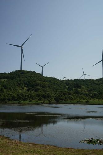 桧山高原風力発電所
