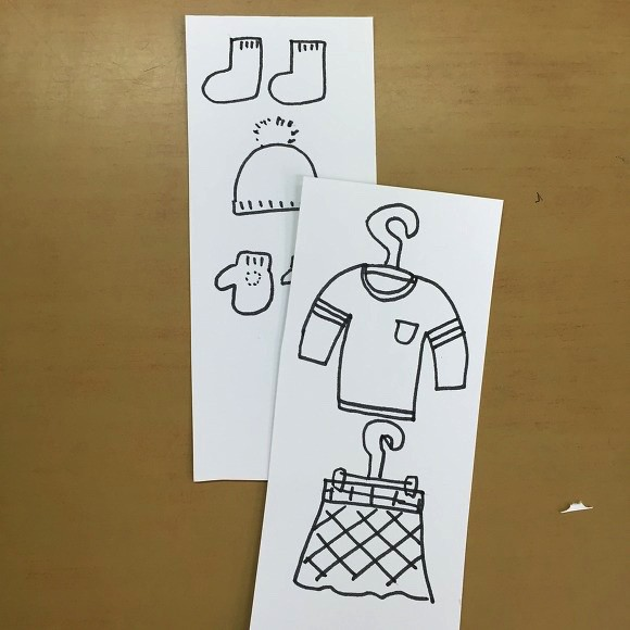 종이인형3 - 8절 스케치북을 이용한 옷장만들기