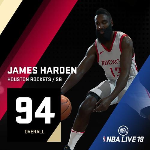 NBA Live 19 James Harden