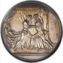 1871 George F. Robinson Medal Reverse