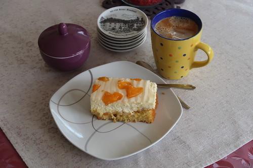 Mandarinen-Schmandkuchen zum Nachmittagskaffee