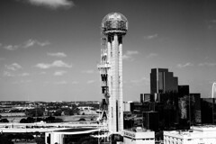 Reunion Tower from the Omni Hotel