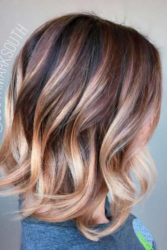 Best Medium Length Haircuts For Thick Hair 2019 -Amazing Look 1