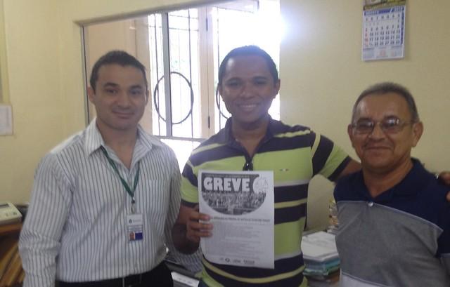 SINDJUSTIÇA/CE visita Comarcas e Juizados 17/08/2015
