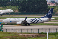 XIAMEN AIR B737-800(W) B-5302 SKYTEAM 001