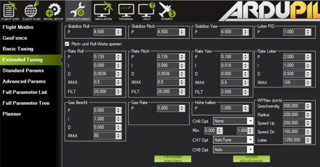 Pixhawk 4 mit Arducopter 3 6 0 bzw  PX4 - Erfahrungen und