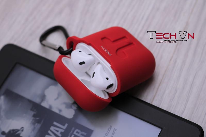 TechVn - Case airpods ROCK ốp bảo vệ airpods 05