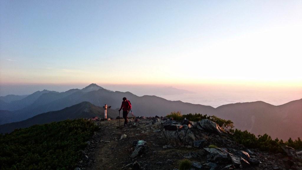 北岳早朝登り