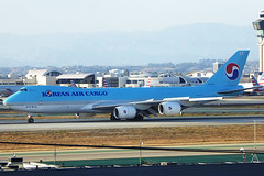 HL7629 Boeing 747-8B5F KAL LAX