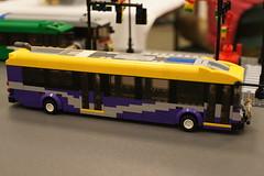 Wmata REX New Flyer DE42LFA BRT: LEGO® Moc