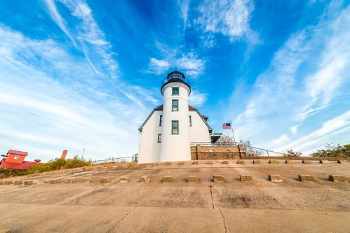 Michigan lighthouse. Photographer Gregory Bozik