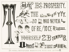 Six Moral Sentences beginning with the Letter T published by Currier & Ives (c.1875). Original from Library of Congress. Digitally enhanced by rawpixel.