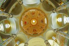 The vault of Frauenkirche, Dresden