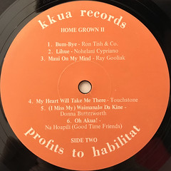 V.A.:HOME GROWN II(LABEL SIDE-B)