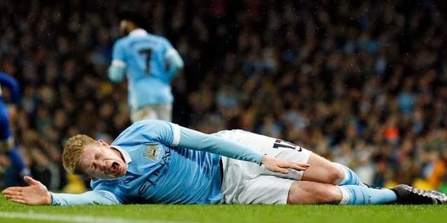 Pemain Manchester City: Kevin De Bruyne Cedera Lutut Saat Latihan