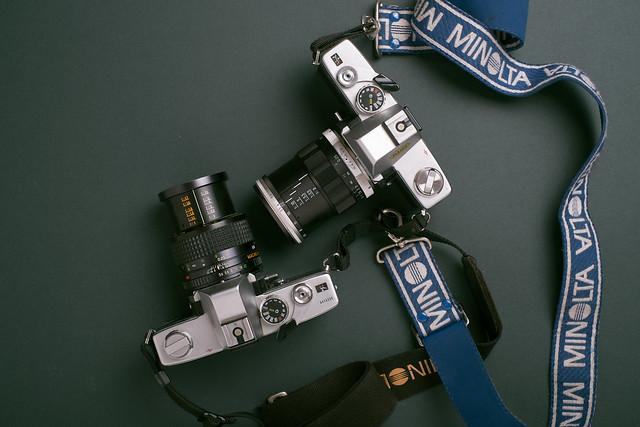 Minolta Macro Rokkor-QF MD, Fujifilm X-Pro1, XF35mmF1.4 R