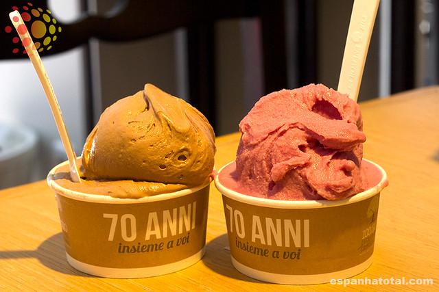 as melhores sorveterias de Madri: Gelateria La Romana, Madrid