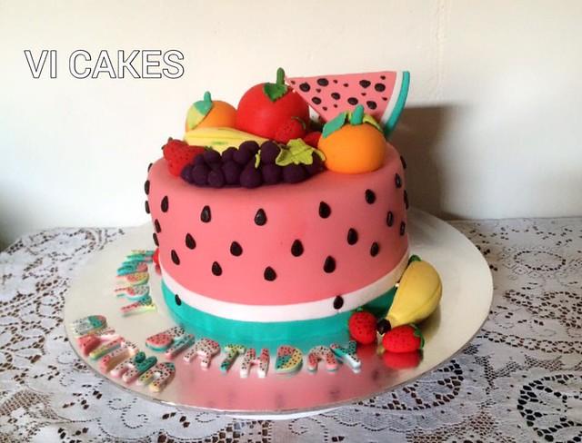 Cake by VI CAKES