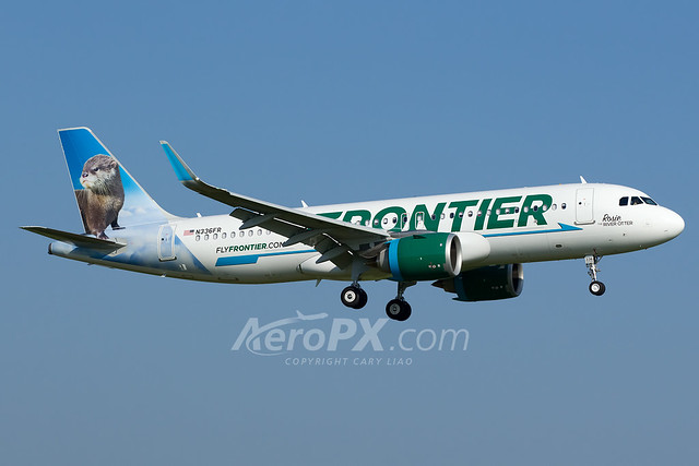Frontier Airlines Airbus A320-251N - N336FR
