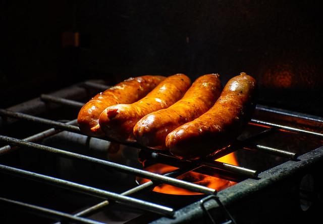 Grilled Sausages, Nikon D600, AF-S VR Zoom-Nikkor 70-300mm f/4.5-5.6G IF-ED
