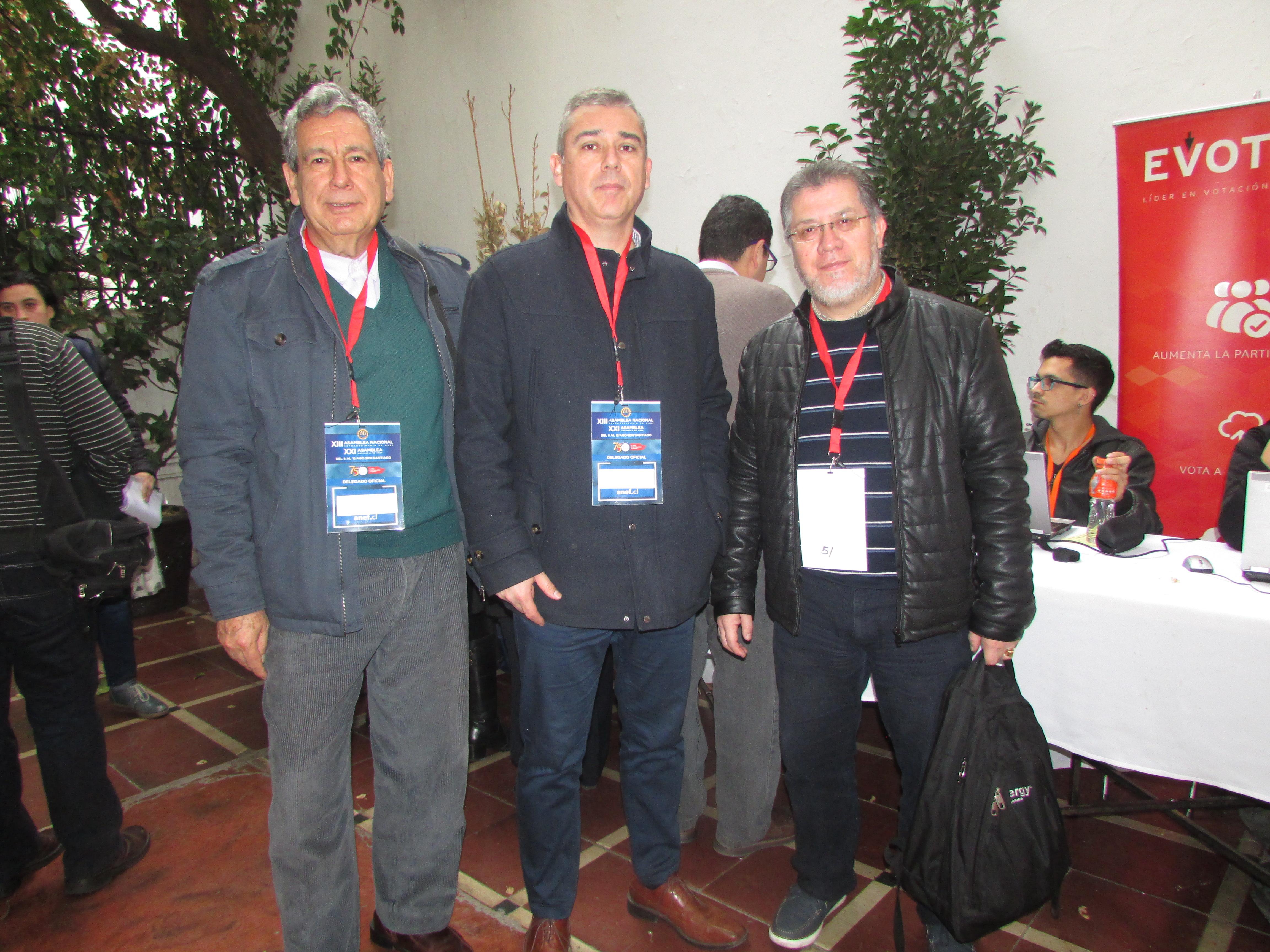 AFIICH participa en Asamblea Nacional Ordinaria y Extraordinaria ANEF – 10 Agosto 2018