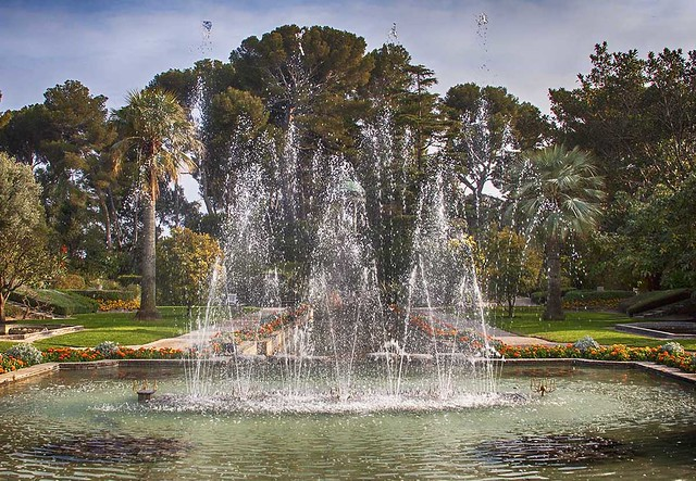Rita Crane Photography: Fountains at the Villa D'Ephrussi,  French Riviera