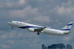 Boeing 737-958(ER) / EL AL / WAW-TLV