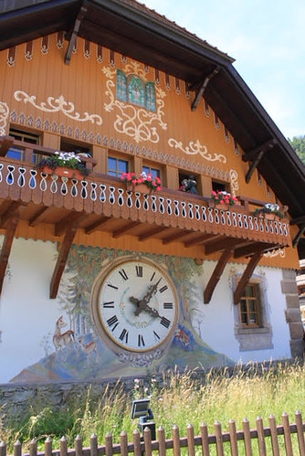 Gorgeous house in the Black Forest. From Black Forest Cupcakes