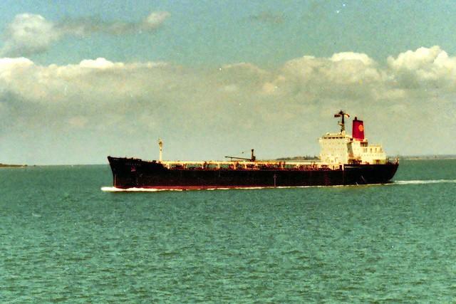 Shell Tanker Cellana October 1981