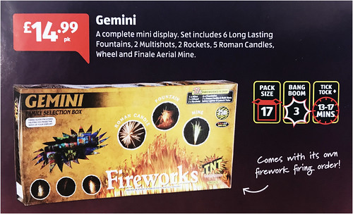 £14.99 ALDI PRICE - GEMINI SELECTION BOX