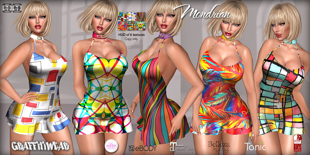 Mondrian Dress Ad