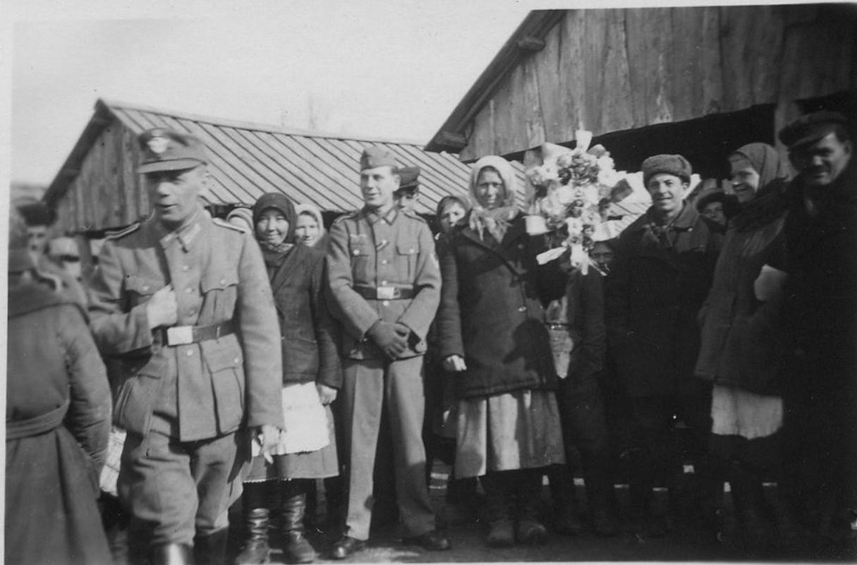 1942. Жизнь под немцем. Козелец, Черниговской области (3)