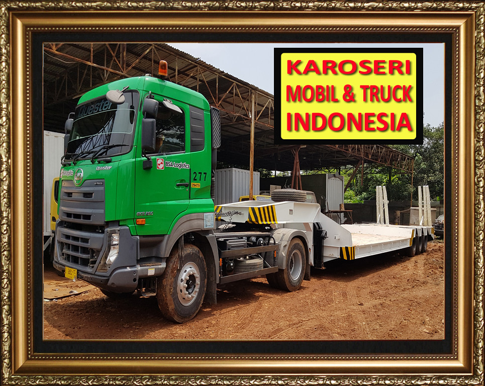 Karoseri Trailer Low Bed