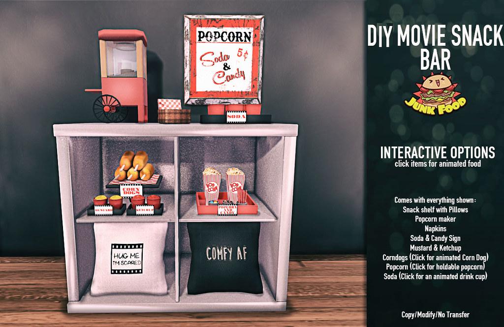Junk Food – DIY Movie Snackbar